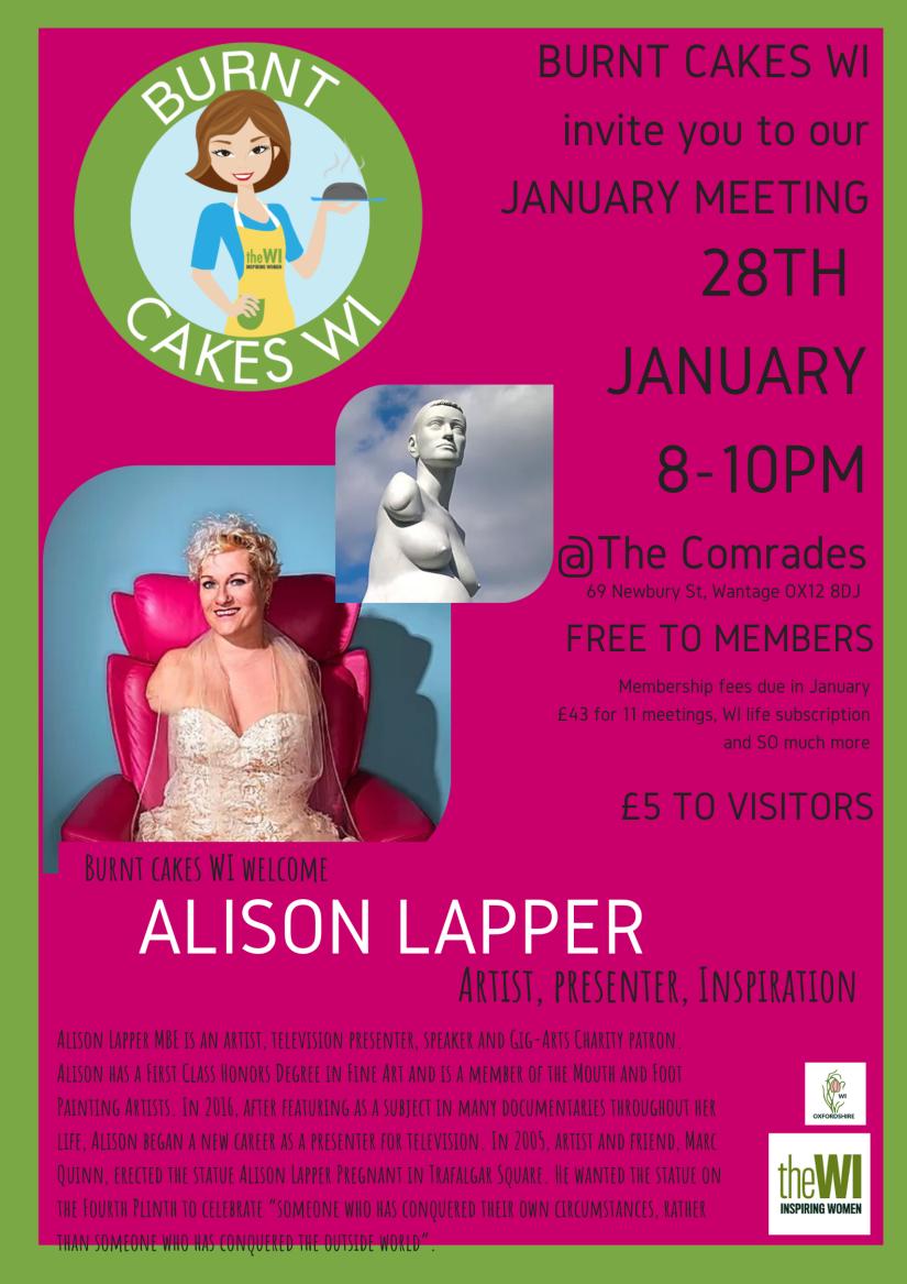 Alison Lapper poster